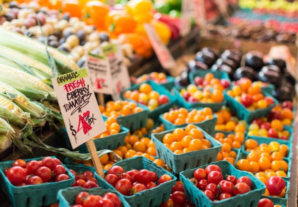 alimentos y bebidas sostenibles