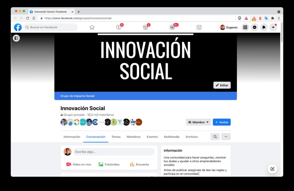 comunidad innovacion social