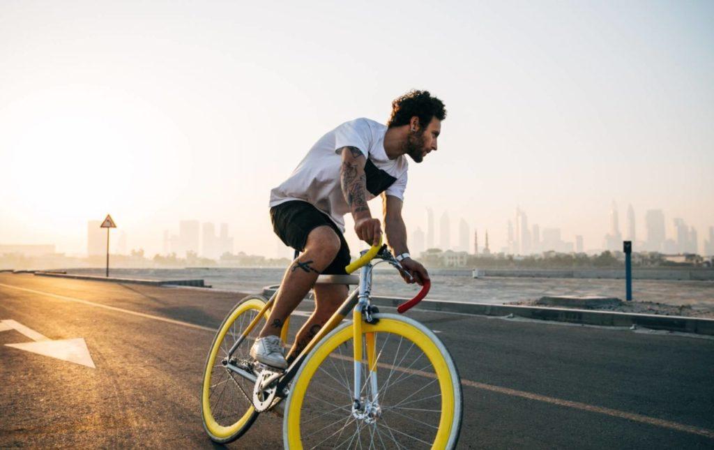traslado en bicicleta